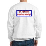 Ron Paul cure-4 Sweatshirt