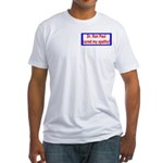 Ron Paul cure-4 Fitted T-Shirt