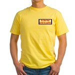 Ron Paul cure-4 Yellow T-Shirt