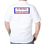 Ron Paul cure-4 Golf Shirt