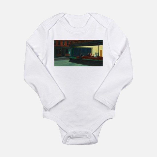 Nighthawks - Edward Hopper Body Suit