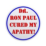 Ron Paul cure-2 Ornament (Round)