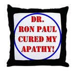 Ron Paul cure-2 Throw Pillow