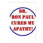 Ron Paul cure-2 Postcards (Package of 8)