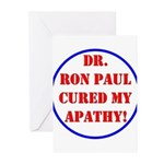 Ron Paul cure-2 Greeting Cards (Pk of 20)
