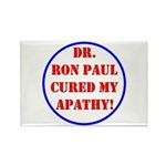 Ron Paul cure-2 Rectangle Magnet (100 pack)
