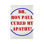 Ron Paul cure-2 Rectangle Magnet