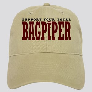 Support Your Local Bagpiper Cap