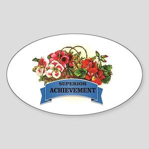 superior achievement art Sticker