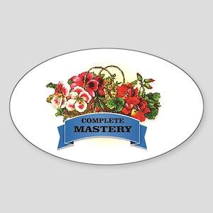 blue complete mastery Sticker