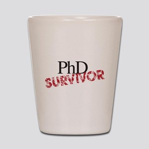 PHD Survivor Shot Glass