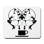 2 girls 1 cup Mousepad