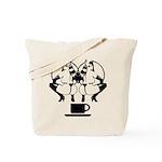 2 girls 1 cup Tote Bag