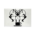 2 girls 1 cup Rectangle Magnet (100 pack)