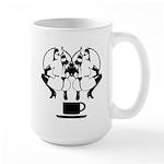 2 girls 1 cup Large Mug