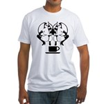 2 girls 1 cup Fitted T-Shirt