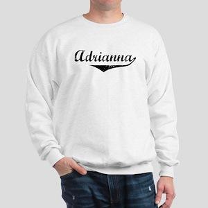 Adrianna Vintage (Black) Sweatshirt