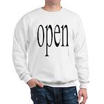 299. open. .  Sweatshirt