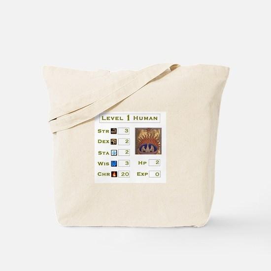 Level 1 Human Tote Bag