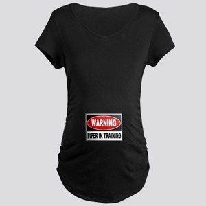 Piper in Training Maternity Dark T-Shirt