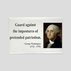 George Washington 17 Rectangle Magnet