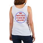 Ron Paul cure-2 Women's Tank Top