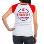Ron Paul cure-2 Women's Cap Sleeve T-Shirt