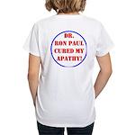 Ron Paul cure-2 Women's V-Neck T-Shirt
