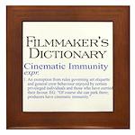 Cinematic Immunity Framed Tile