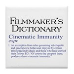Cinematic Immunity Tile Coaster