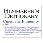 Cinematic Immunity Small Poster