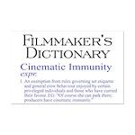 Cinematic Immunity Mini Poster Print