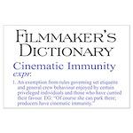Cinematic Immunity Large Poster