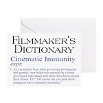 Cinematic Immunity Greeting Cards (Pk of 20)