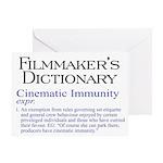 Cinematic Immunity Greeting Card