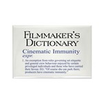 Cinematic Immunity Rectangle Magnet (100 pack)