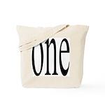 289. one. .  Tote Bag