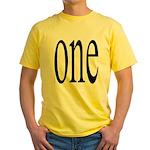 289. one. .  Yellow T-Shirt