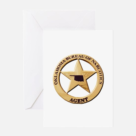 Oklahoma Narco Agent Greeting Cards