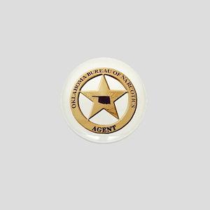 Oklahoma Narco Agent Mini Button