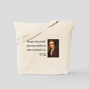 Thomas Paine 23 Tote Bag