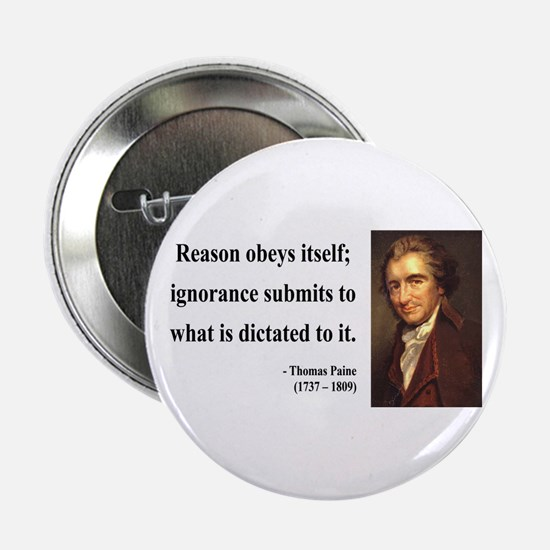 "Thomas Paine 23 2.25"" Button"