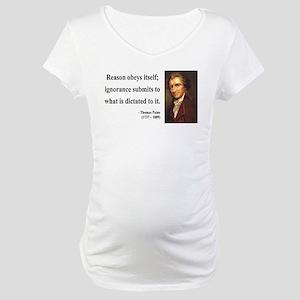 Thomas Paine 23 Maternity T-Shirt