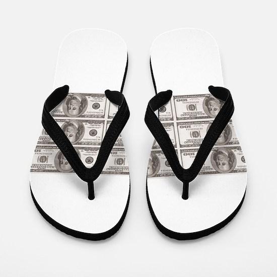 sheet of bens Flip Flops