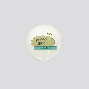 Everybody Loves a Grape Grower Mini Button