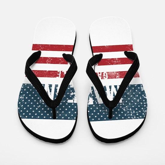 Made in Gainesville, Florida Flip Flops