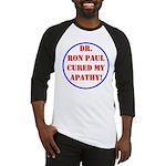 Ron Paul cure-2 Baseball Jersey