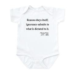 Thomas Paine 23 Infant Bodysuit