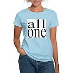 289b. all one. .  Women's Pink T-Shirt
