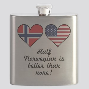 Half Norwegian Is Better Than None Flask